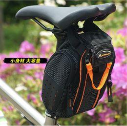 Wholesale Cushion Seat Bag - Seat Bags Bike bag saddle bag rear bag mountain bike riding equipment tool bag cushion