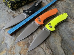Wholesale 2016 High quality Latest design JIAHENG JH04 Bearing system F3 Floding knife D2 blade G10 handle outdoor survival hunting camping tool OEM