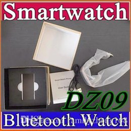 Wholesale 20 X Sports SmartWatch DZ09 GT08 U8 A1 Wrisbrand Android Phone Healthy Wristwatch With Camera MP quot Screen SMS GSM DHL Free B BS