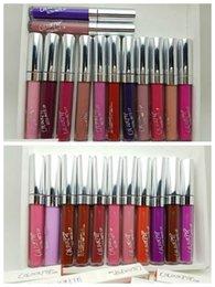 Wholesale HOT NEW Makeup Colourpop Ultra Matte Lip Gloss Liquid Lipsticks g color DHL GIFT