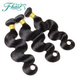 9A Grade Brazilian Hair No Shedding No Tangle Body Wave 3 Bundles Human Hair Weaves 100% Unprocessed Hair