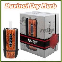 Wholesale 100 Original Davinci Ascent Dry Herb Vaporizer Kit mAh Ascent Davinci The Ultimate Vaporizer E Cigarette Kits