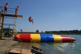 2016 hot tiny inflatable water blob catapult blob