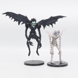 """7"""" 18cm Anime Death Note Deathnote Ryuuku Rem PVC Action Figure Collection Model Toy Dolls"""