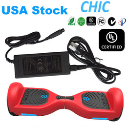UL2272 IO Chic Electric Scooter USA Stock LED Light Hoverboard Smart Balance Wheel Drifting Board Samsung Battery Skateboard CE UL Charger