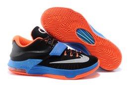 Wholesale Cheap KD VII Basketball Shoes Men KD Retro Sneakers Discount Original New Arrival For Sale KD7 Original Sport Shoes Size