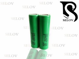 Wholesaler Original 3.7v 2500mah for samsung 25r 18650 rechargeable Lithium Battery for vape flat top