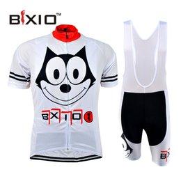 Wholesale Bxio Promotion Item Bicicleta Mountain Bike France Jersey Funny Dog Printed Zipper Skinsuit Wielerkleding Sportswear BX W082