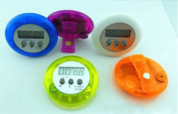 Wholesale Free Shipping by DHL ! ! Colorful Digital Lcd Timer Stopwatch Kitchen Cooking Countdown Clock