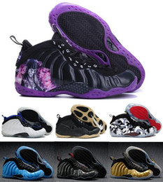 Wholesale Best AirlisFoamposits Basketball Shoes Sneakers Men s Women Purple Man Pro One Sports AiresFoamposit Shoes Pearl Penny Hardaways Size
