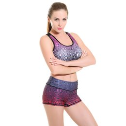 2016 New Womens Hot Sexy Pattern Super Elastic Running Fitness Shorts For Woman Maze Printing Summer Fashion Sports Gym Yoga Shorts