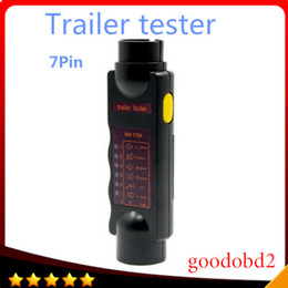 Wholesale New v Pin Vehicle Car Trailer Towing Light Cable Circuit Plug Socket Tester Auto Test Tool Set