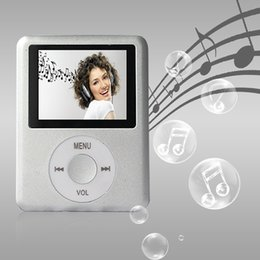 Wholesale 8GB SILVER ipodNANO3 Mini Usb Port Slim Small Multi lingual Selection LCD Portable MP3 Player MP4 Player Video Player Music Player