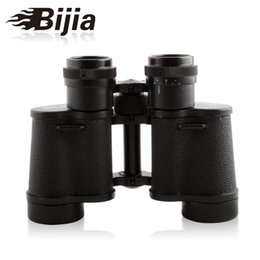 Hd militar en venta-Brand BIJIA 62 HD Telescopio 8 x 30 Prismáticos impermeables militares para el turismo Montañismo de concierto Portable Zoom Lens Binocular Telescope