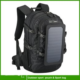 Wholesale 2016 year very hot sale High Quality Solar bag for phone and other digital device Type charging and Camping Hiking Use solar backpack