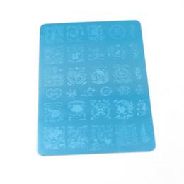 New Nail Stamping Plates 11Pcs Popular design Nail Art Stamp Plate Stamping Nail Plates Art DIY Template 145*95mm HK01-11