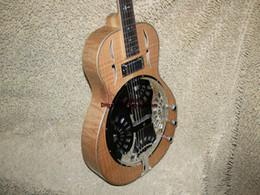 Custom Wood Dobro Electric Guitar High Quality Electric Guitar Free shipping