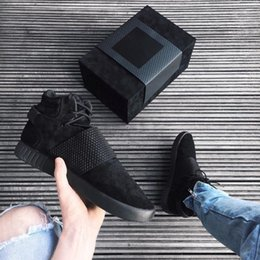 Wholesale Originals Top Quality Kanye West Season Boots for Men and Women Tubular Invader Strap Mens Ankle Boot Size