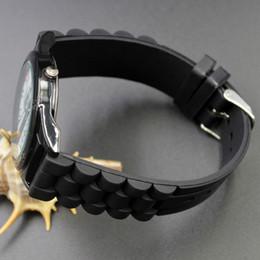 Wholesale Casual Women Men Unisex Animal crocodile Style Dial Silicone Strap Analog Quartz Wrist watches