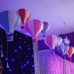 Wholesale Hot Air Balloons Party Decoration Inch Hot Air Balloon Paper Lantern Wedding Party Birthday Party Supplies Kids Gift Craft