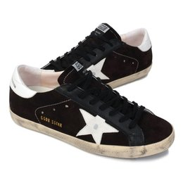Wholesale sizes Italy new style Golden Goose sneakers men casual shoes Genuine Leather women s low Top shoes GGDB superstar scarpe da donna