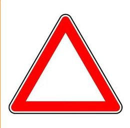 Wholesale factory direct hot sale custom High Visibility triangle pp Plastic Warning Traffic Road Safety Sign board sheet