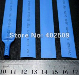 Wholesale SC mm M rohs Red black green white blue yellow transparent Insulation heat shrinkable tubing for cable management colored heat sh