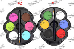 Wholesale Factory Direct DHL New Makeup Eyes popfeel Face Painting Kit For Kids Colors Eyeshadow g