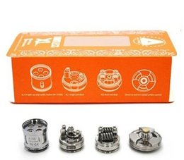 Wholesale iJoy XL C4 Light up Chip Coil For Limitless XL RTA ohm Limitless Tank Replacement Coils Original