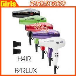 Wholesale Newest PARLUX Professional Hair Dryer High Power W Hair Blower Salon Styling Tools US EU AU Plug Colors High quality