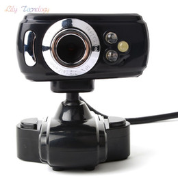 Wholesale-800 Pixel USB 3 LED Webcam Web Cam Camera for Laptop Computer With Mic New 35