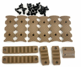 Brand New Tactical handguard quad Rail Covers for Scope Rail System Sand