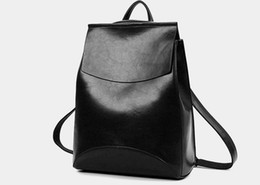 Wholesale Hot Sell Spanish Brand Design Pu Women Leather Backpacks School Bag Student Backpack Ladies Women Bags Leather Package Female