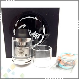 Wholesale Best CoilArt Mage RTA Clone Atomizer ml Capacity Top Refilling Tank mm Diameter with Two Post RTA Build Deck DHL Free