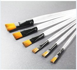 Wholesale Painting Brush Set in pieces of Artist Brushes for Painting with Watercolor Gouache Brushes Acrylic Oil Clear Pen Nylon Hairbrush