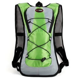 Wholesale 2016 New Waterproof Breathable Bicycle Backpack Outdoor Sports Riding Travel Mountaineering Hydration Water Bag with Rain Cover