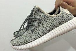 Lumières bottes à vendre-350 Boost Low Turtle dove (Light Grey) Low Bottes, Cheap Boost 350 Chaussures, Hot Selling Sneaker Chaussures De Course Extérieures Sneakers Pour Hommes Femmes