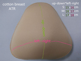 Free shipping Cotton Fake Boobs for Breast Cancer Postoperative period or Push Up Chest whole sale