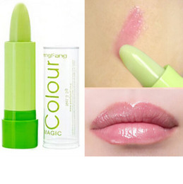 Wholesale Christmas Gift Wholesale Deal - Super Deals Women Mouth Care Magic Color Changing Lipstick Makeup Fruity Moisturizer Lipstick Free Shipping Christmas gift