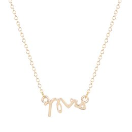 10pcs lot Mrs Letter Wedding Charm Necklace Pendant Collares Minimalist Jewelry Gift Necklace for Girls and Women