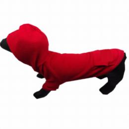 Большие костюмы для собак для продажи-Щенки из мягкой толстовки с капюшоном Футболка с длинным рукавом из свитера