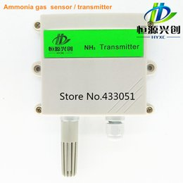 Wholesale Ammonia transmitter gas sensor NH3 transmitter pig farm agriculture laboratory dedicated output signal mA V RS485