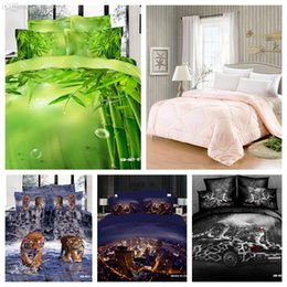Wholesale d Your Life Cotton PC Luxury D leopard print comforter set queen size Green Bamboo comforter tiger city quilt king