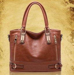 Wholesale 2016 woman ladies hand bag zipper handbag women handbags lady shoulder leather bags