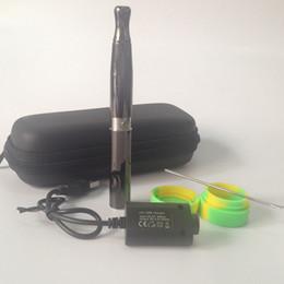 HOT Airflow Vaporizer E Cigarette Starter Kit Quartz Dual Coils Wax Pen Kit ceramic donut Vape Pens E-cigarette Skillet v Kit