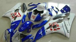 Wholesale 3 Free Gifts New ABS plastic Fairing Kits Fitment for YAMAHA R6 YZF600 YZF R6 yzf r6 bodykit set blue red FIAT