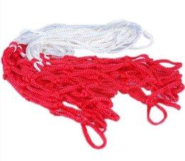 Wholesale White Red Basketball Hoop Mesh Net Backboard Rim Ball Pum