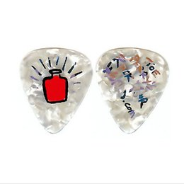 Wholesale Supplier of guitar electronics parts and accessories pearl guitar picks OEM picks M thickness mm
