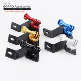 Wholesale Promotional Items for Camera Accessories Motorcycle Rearview Mirror Bracket Mounting Bracket for Go pro Camera Use