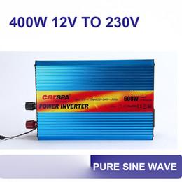 Wholesale 400w v to v dc ac power inverter pure sine wave hz with car fuse P400U